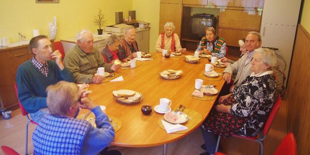 Altenheim Schweischer Tischgemeinschaft