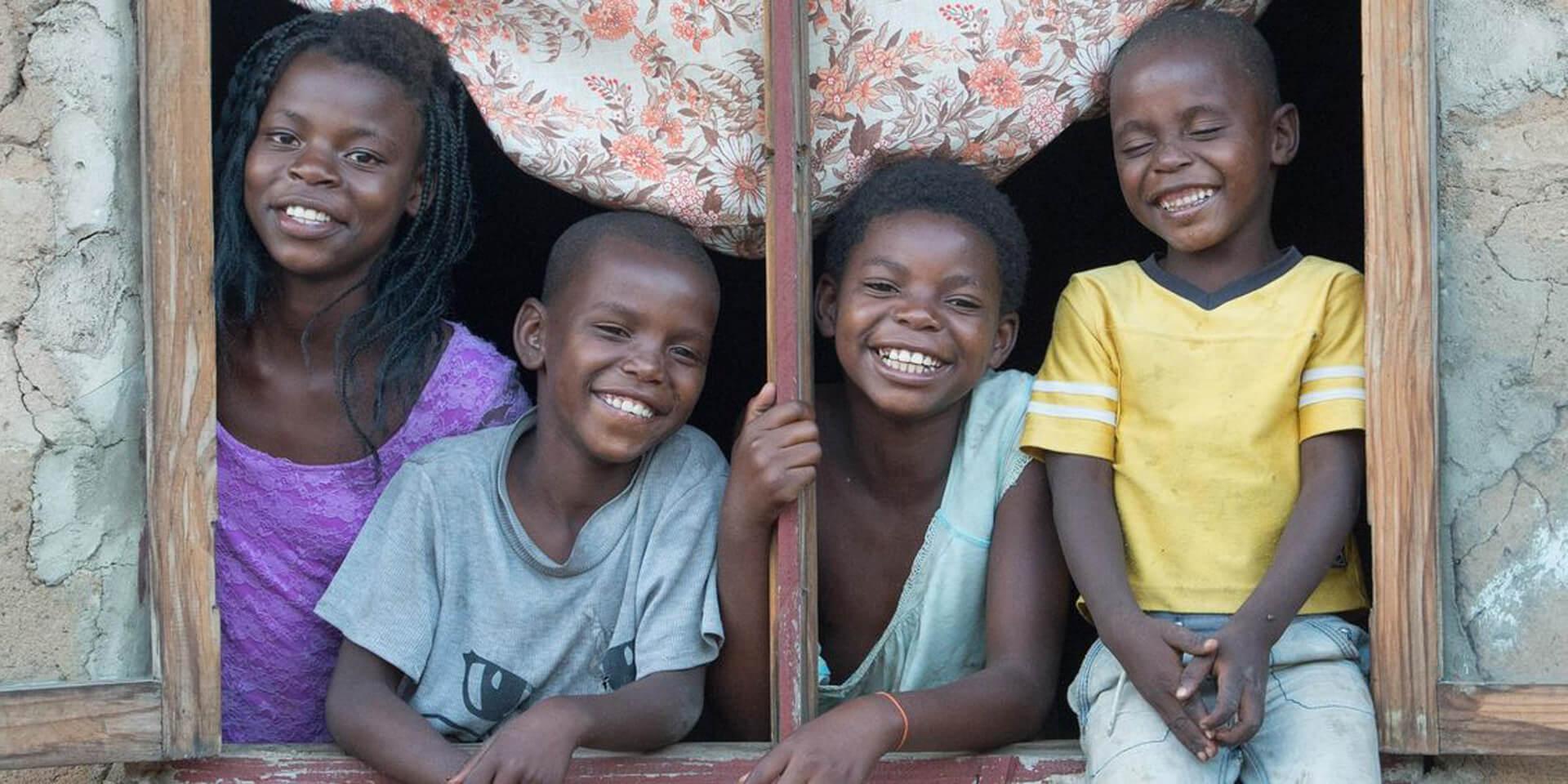 Kinder in Mosambik, © Helge Bendl/Brot für die Welt