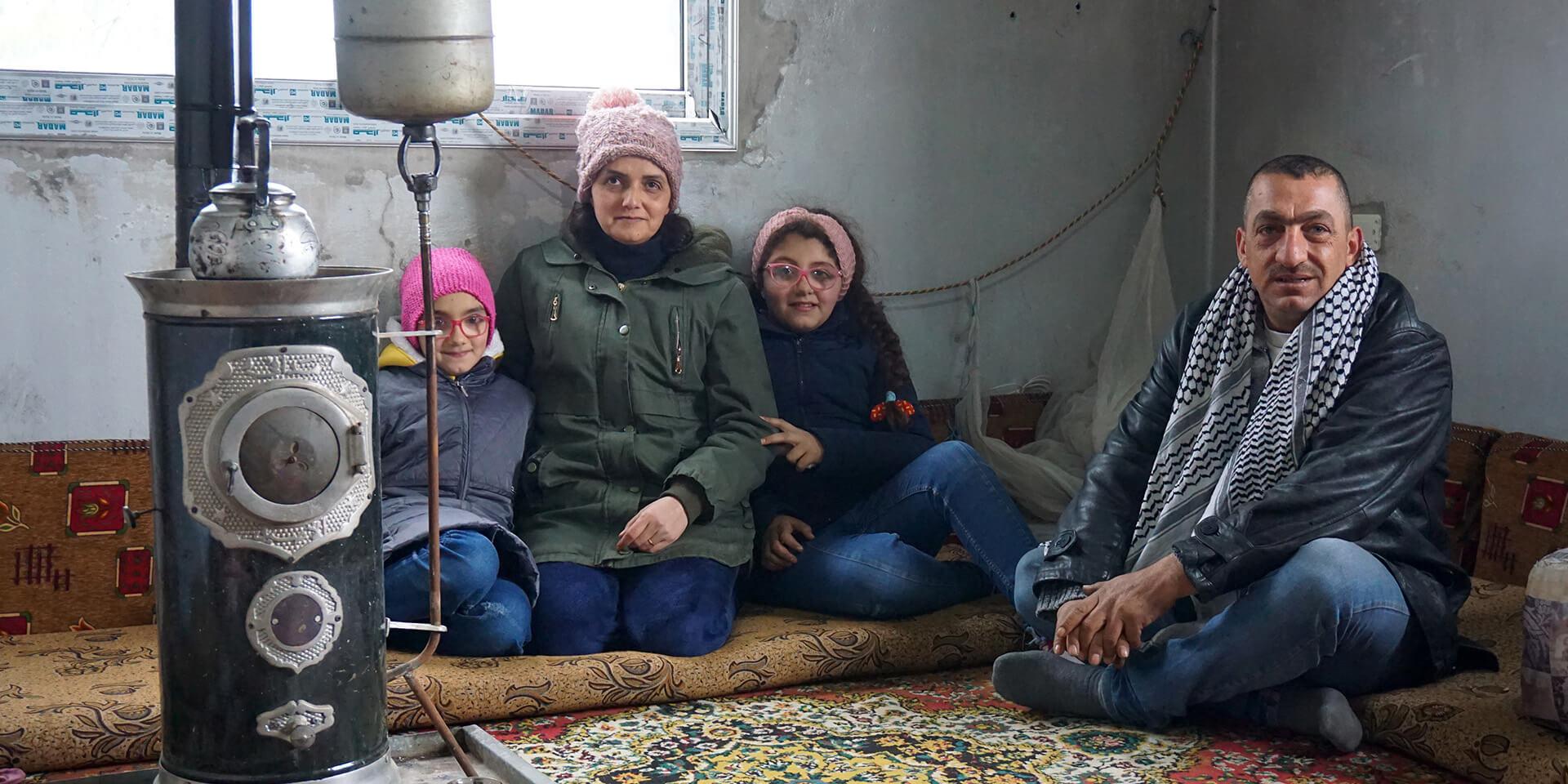 Familie auf der Flucht, © Isabelle Freimann/Diakonie Katastrophenhilfe
