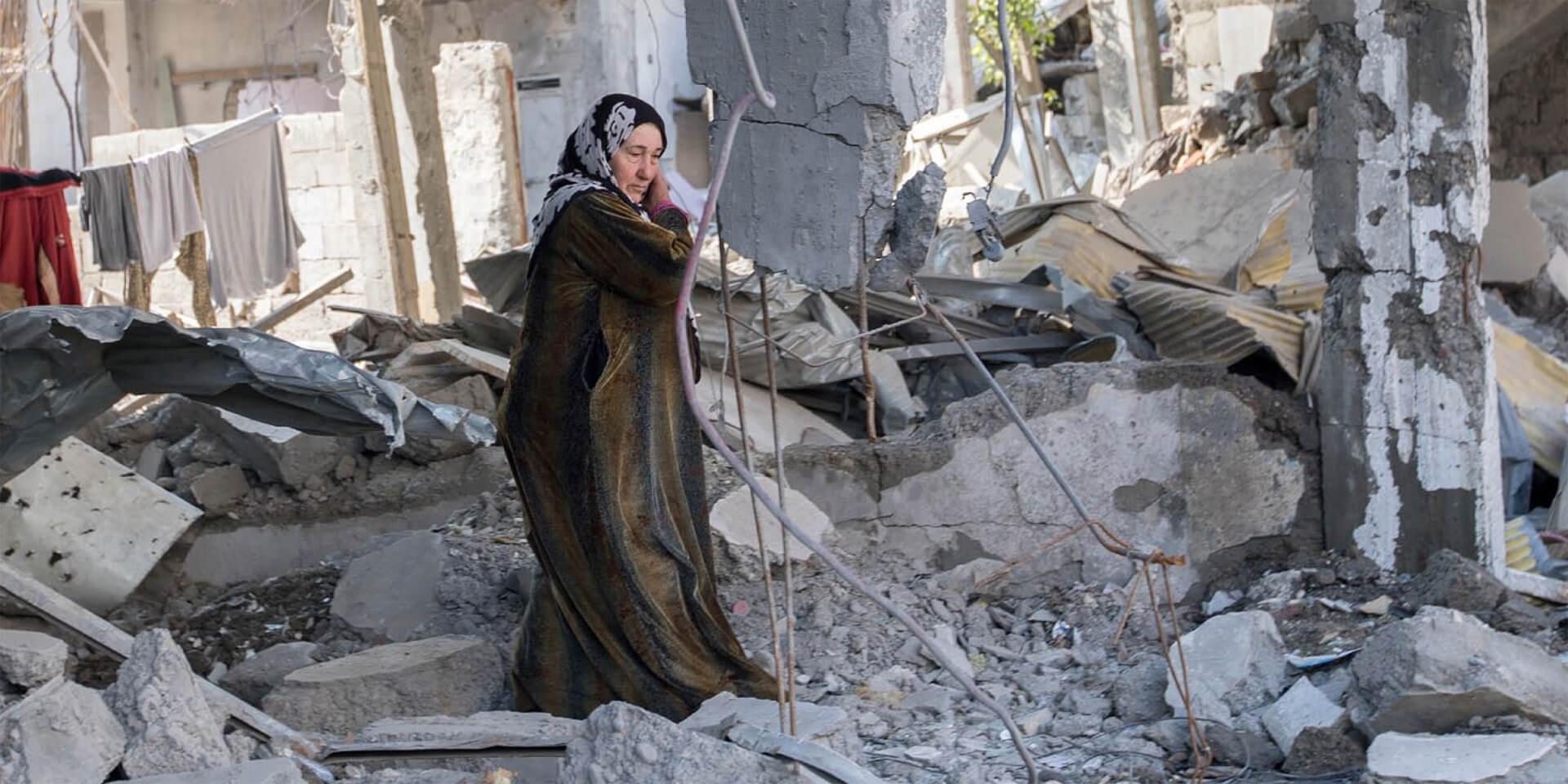 EKD Fürbitte für verfolgte Christen Syrien Titelbild Materialheft , © epd-Bild/Backhaus