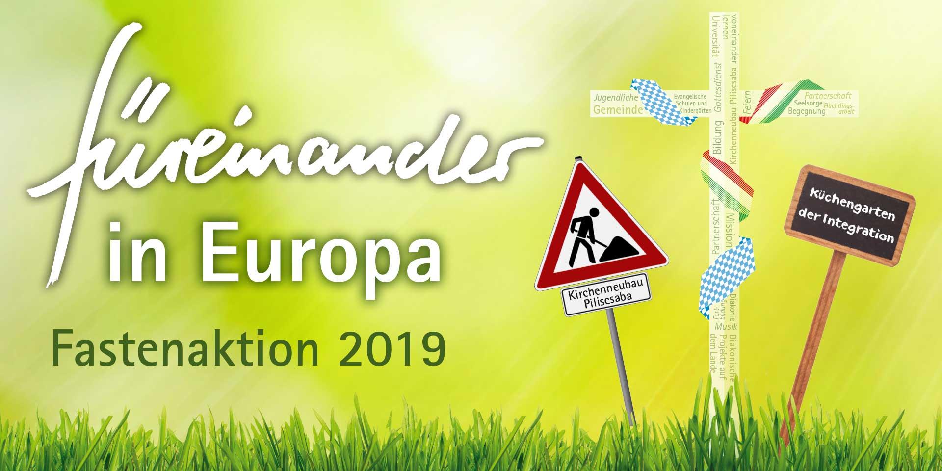 Fastenaktion 2019 Plakat, © ELKB