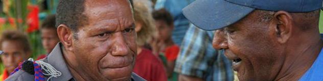 Bischof Jack Urame Papua-Neuguinea,© Krafft