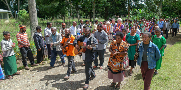 Papua Neuguinea Hochschule Orgelbeng,© Krafft