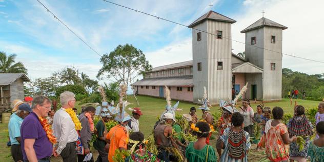 Kirche in Sattelberg, Papua-Neuguinea,© Krafft