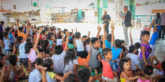 Sundayschool Manila Philippinen Heinrich Bedford-Strohm,© Krafft