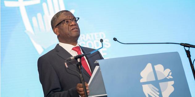 Denis Mukwege,© LWB / Albin Hillert