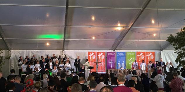 LWB Vollversammlung Namibia Eröffnungsgottesdienst,© LWB