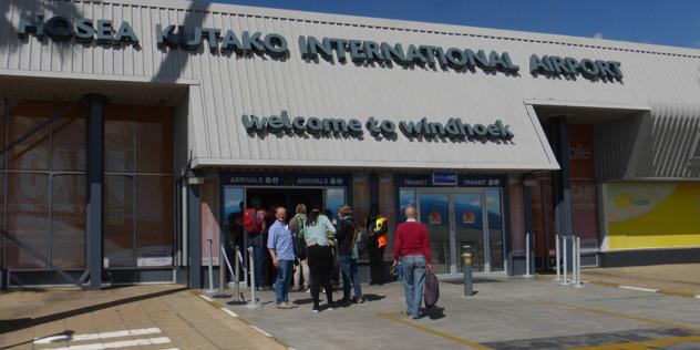 Flughafen Windhoek Namibia,© ELKB