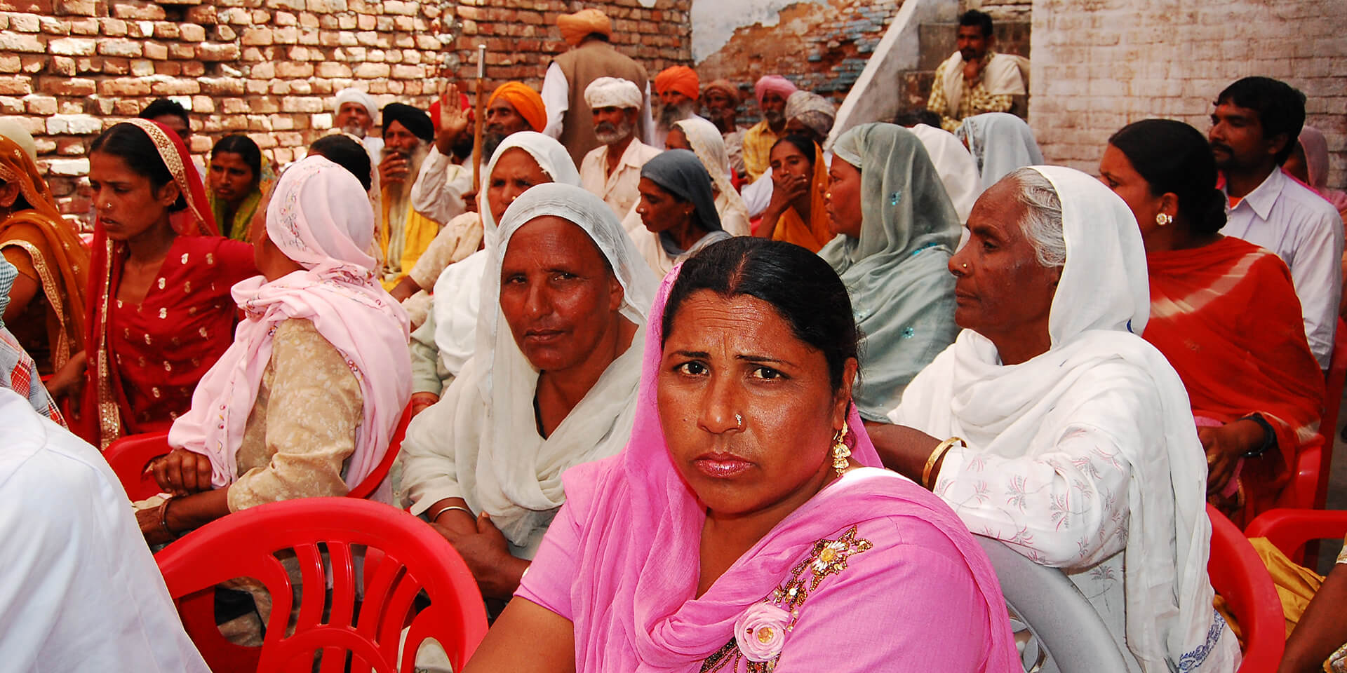 Dorfversammlung im Rahmen des Dalit-Empowerment-Programms der Diözese Amritsar, Kirche von Nordindien, © Johny Thonipara