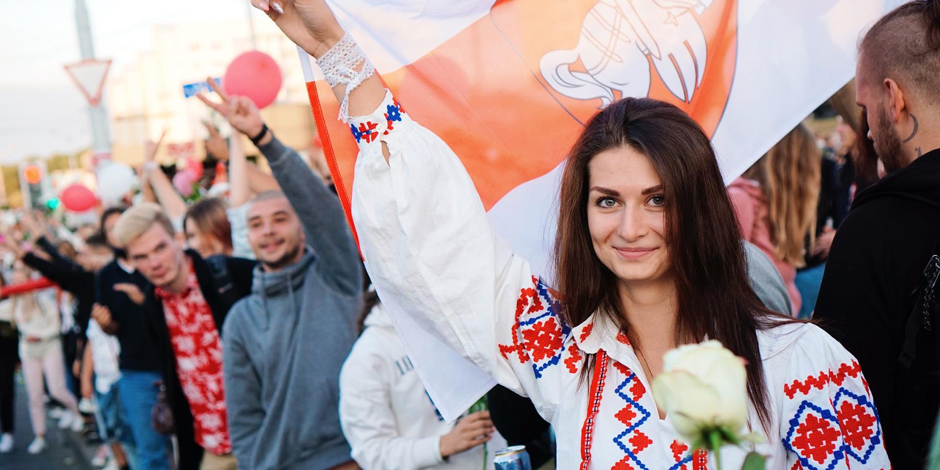 Die Protestbewegung in Belarus ist auch eine Frauenbewegung.